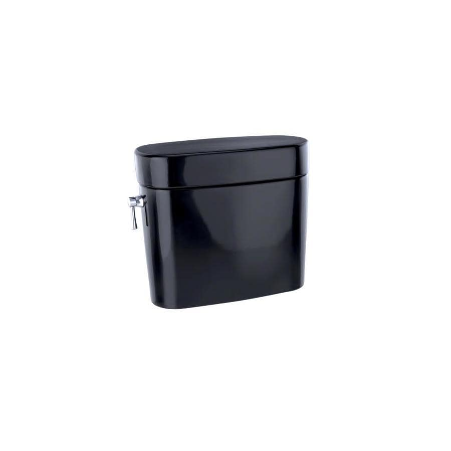 TOTO Nexus Ebony 1.28-GPF (4.85-LPF) 12 Rough-In Single-Flush High-Efficiency Toilet Tank
