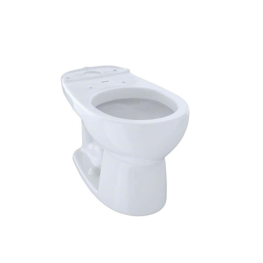 TOTO Eco Drake Standard Height Cotton White 12 Rough-In Round Toilet Bowl
