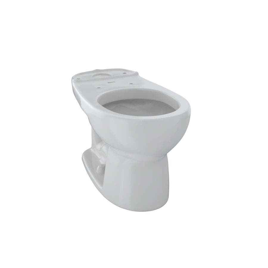 TOTO Eco Drake Standard Height Colonial White 12 Rough-In Round Toilet Bowl