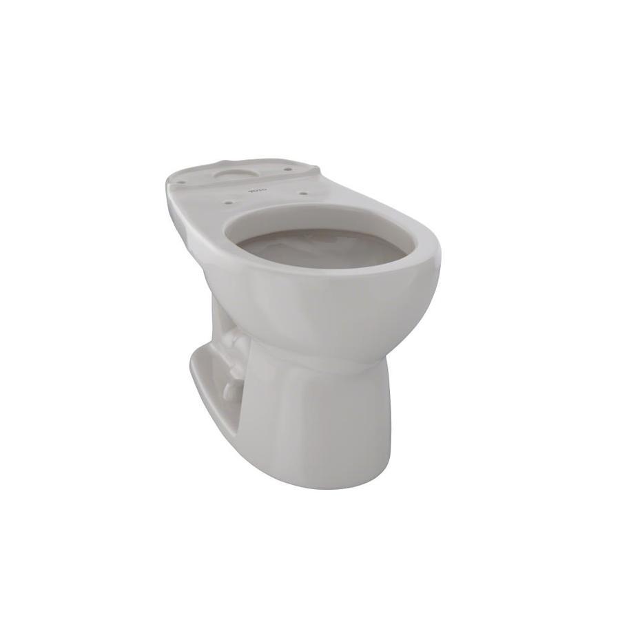 TOTO Eco Drake Standard Height Sedona Beige 12 Rough-In Round Toilet Bowl