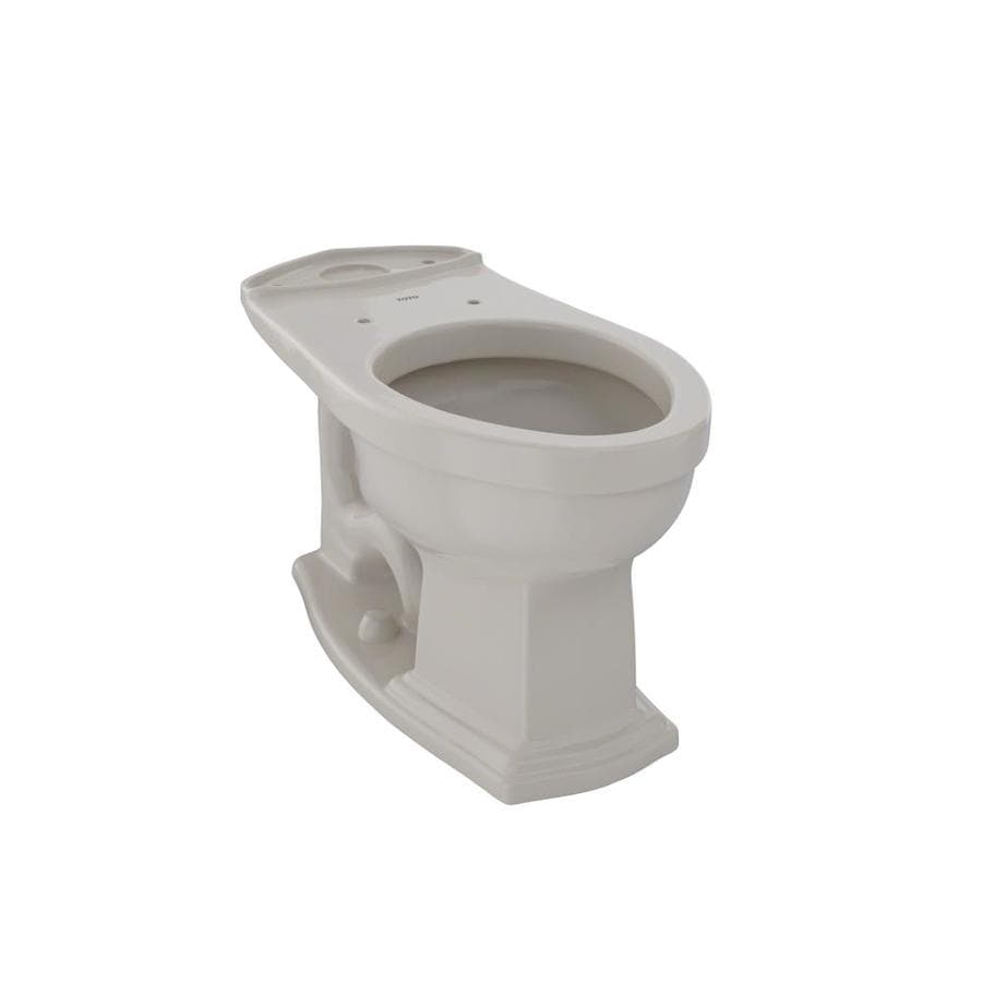 TOTO Eco Clayton Chair Height Bone 12 Rough-In Elongated Toilet Bowl