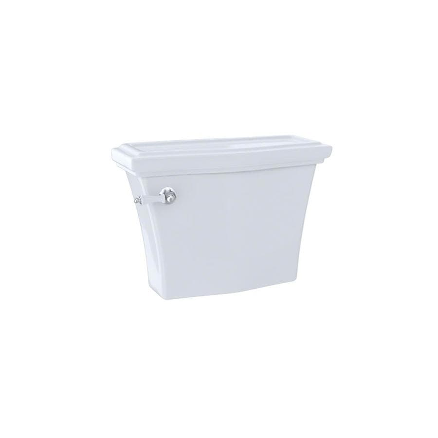 TOTO Clayton Cotton White 1.28-GPF Single-Flush High-Efficiency Toilet Tank