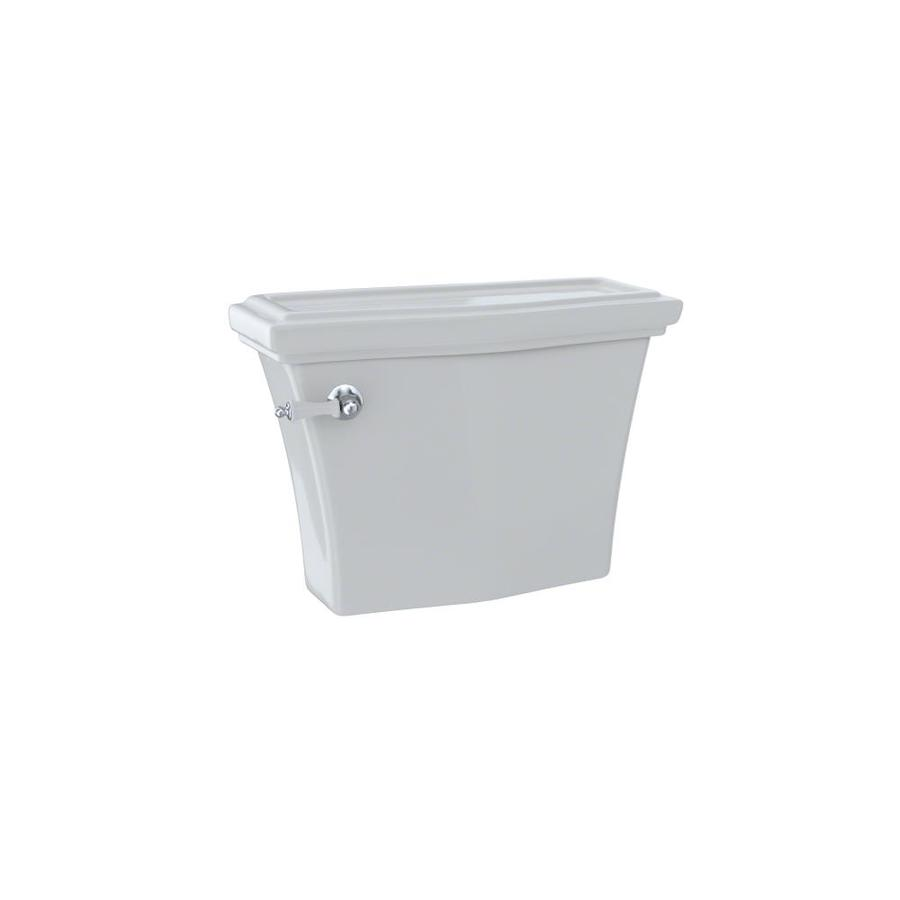 TOTO Clayton Colonial White 1.28-GPF (4.85-LPF) 12 Rough-In Single-Flush High-Efficiency Toilet Tank