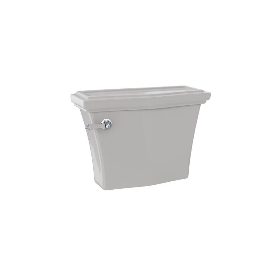 TOTO Clayton Sedona Beige 1.28-GPF Single-Flush High-Efficiency Toilet Tank