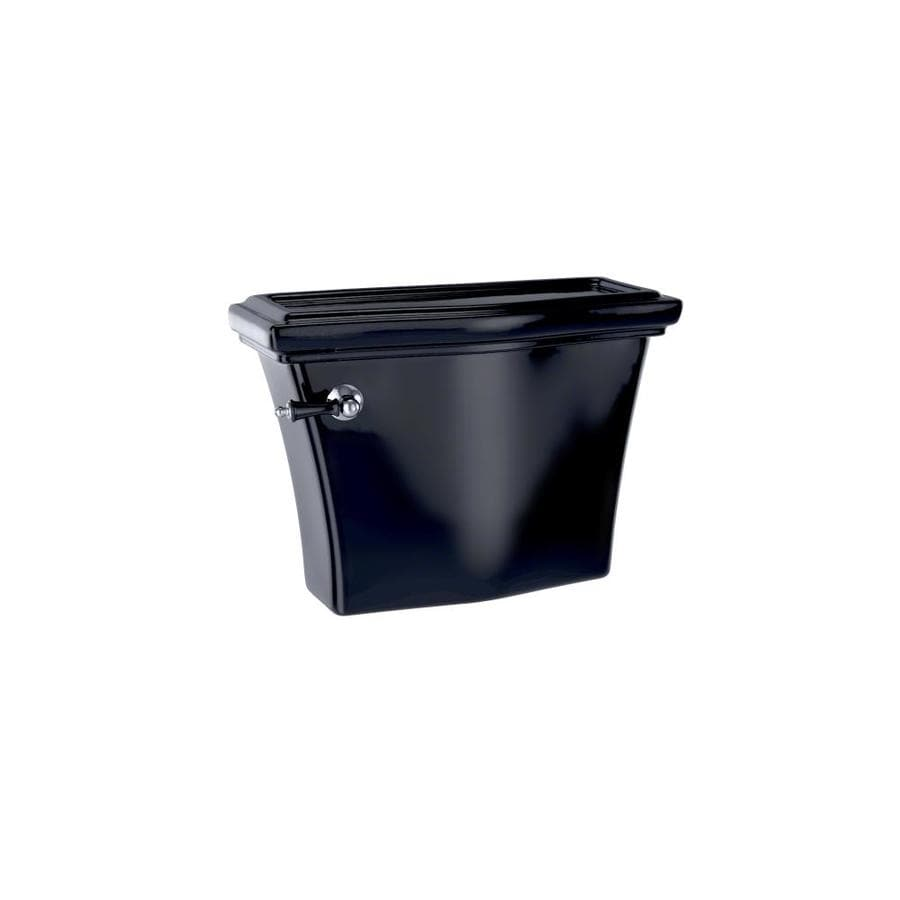 TOTO Clayton Ebony 1.28-GPF (4.85-LPF) 12 Rough-In Single-Flush High-Efficiency Toilet Tank
