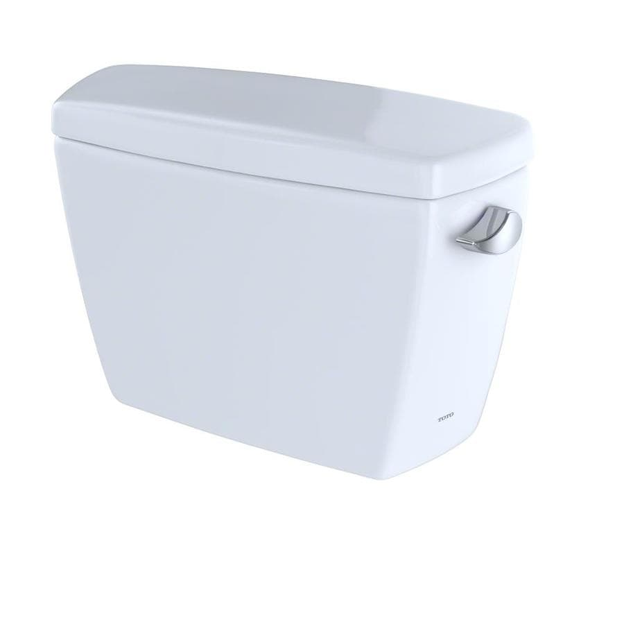 TOTO Drake Cotton White 1.28-GPF Single-Flush High-Efficiency Toilet Tank
