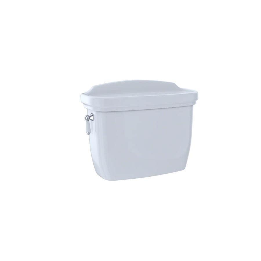 TOTO Dartmouth Cotton White 1.28 Single-Flush High-Efficiency Toilet Tank