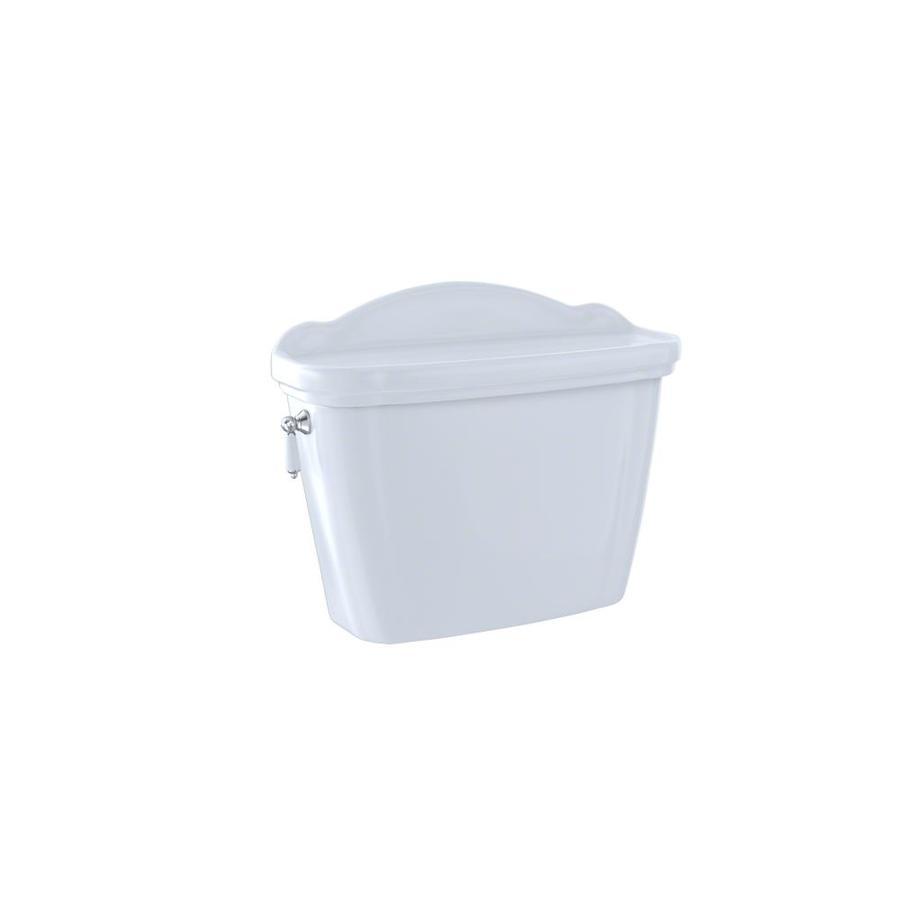 TOTO Whitney Cotton White 1.28-GPF (4.85-LPF) 12 Rough-In Single-Flush High-Efficiency Toilet Tank