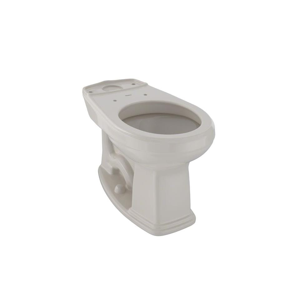 Shop TOTO Promenade Bone Round Chair Height Toilet Bowl at Lowes.com