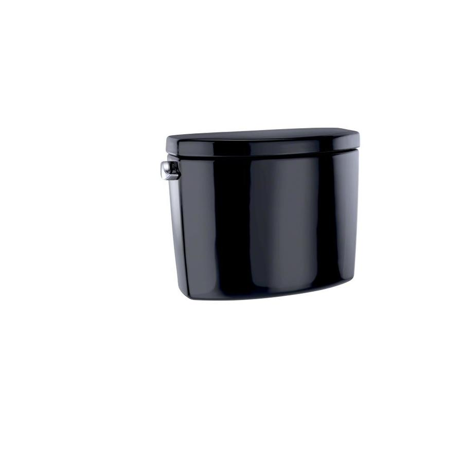 TOTO Drake II Ebony 1.28-GPF Single-Flush High-Efficiency Toilet Tank