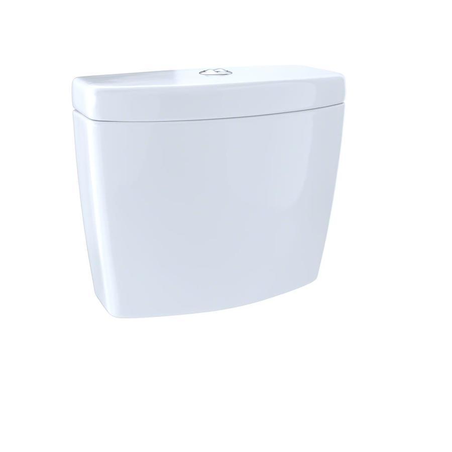 Shop TOTO Aquia II Cotton White 0.9-GPF Dual-Flush High-Efficiency ...