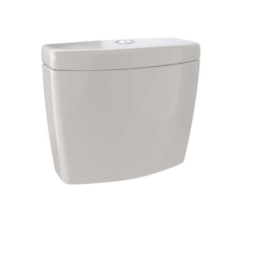 TOTO Aquia II Bone 0.9-GPF Dual-Flush High-Efficiency Toilet Tank