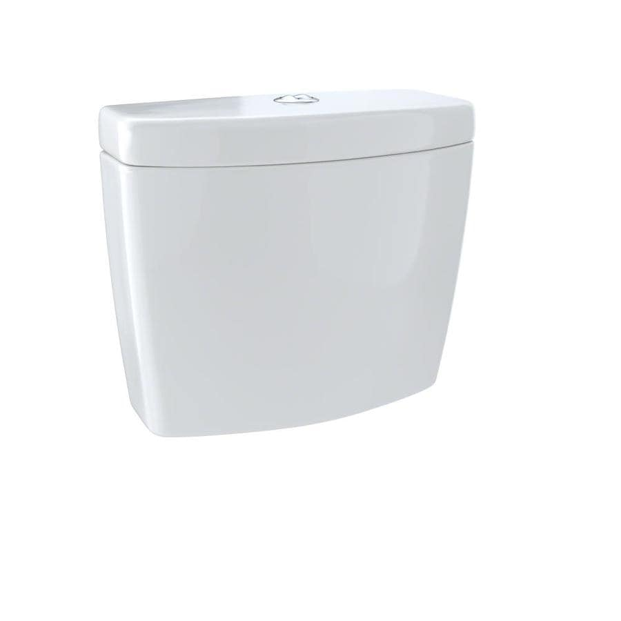 TOTO Aquia II Colonial White 1.6; 0.9-GPF (6.06; 3.41-LPF) 12 Rough-In Dual-Flush High-Efficiency Toilet Tank