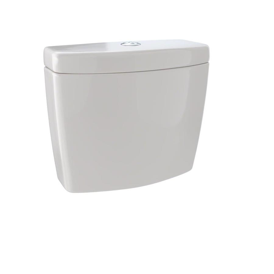 TOTO Aquia II Sedona Beige 0.9-GPF Dual-Flush High-Efficiency Toilet Tank