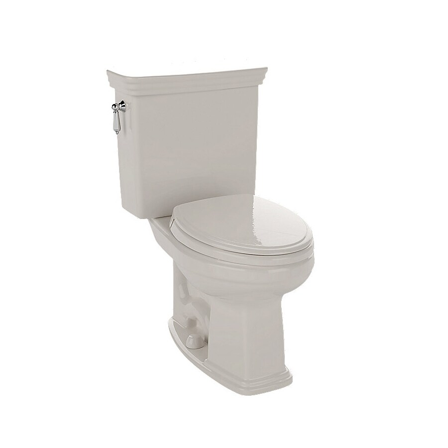 shop toto promenade sedona beige elongated chair height 2 piece toilet at. Black Bedroom Furniture Sets. Home Design Ideas
