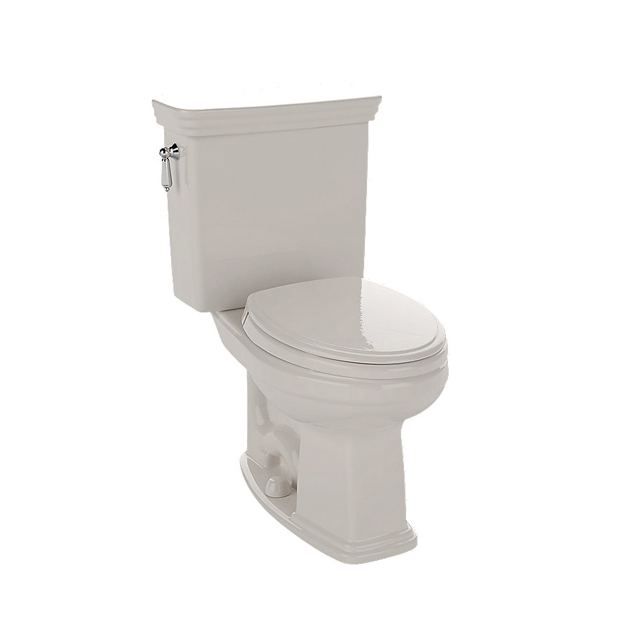 TOTO Promenade 1.28 Sedona Beige WaterSense Elongated Chair Height 2-Piece Toilet