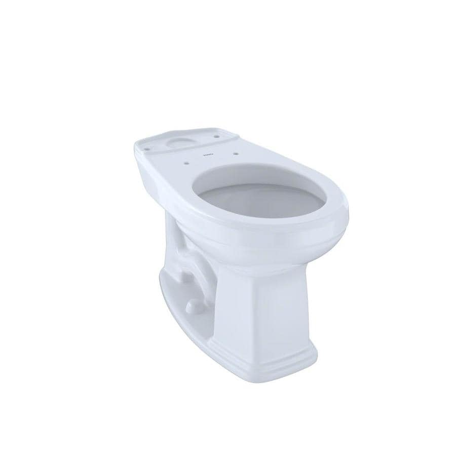 TOTO Promenade Chair Height Cotton White 12 Rough-In Round Toilet Bowl