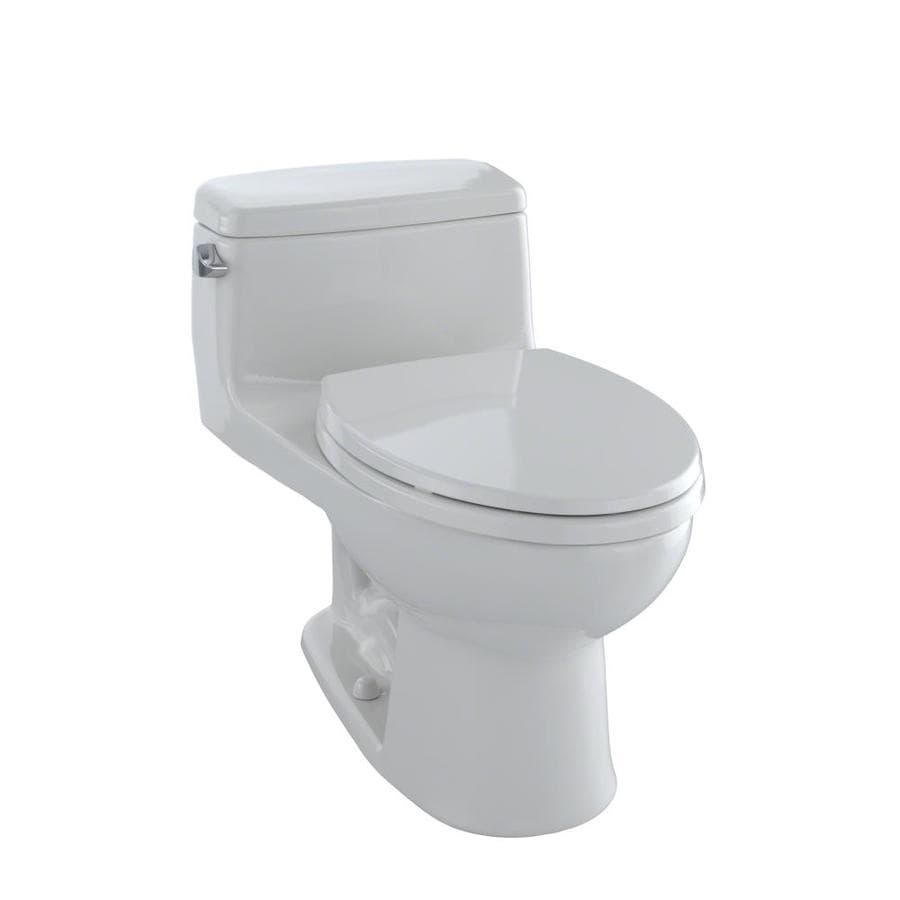 TOTO Eco Supreme 1.28 Colonial White WaterSense Elongated Standard Height 1-Piece Toilet