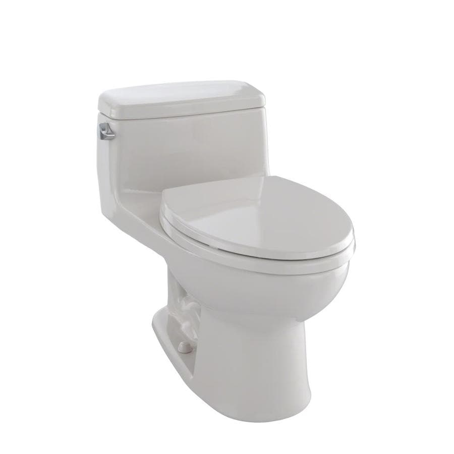 TOTO Eco Supreme Sedona Beige WaterSense Labeled  Elongated Standard Height 1-piece Toilet 12-in Rough-In Size