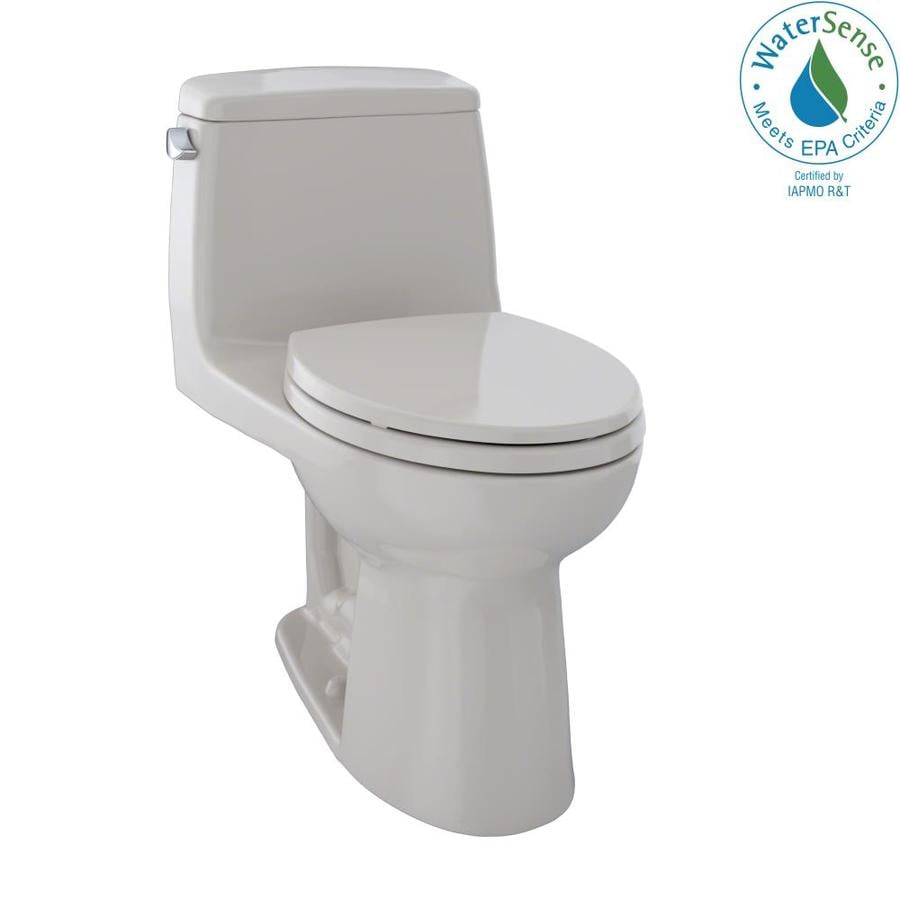 TOTO Eco Ultramax 1.28-GPF (4.85-LPF) Sedona Beige WaterSense Elongated Standard Height 1-Piece Toilet