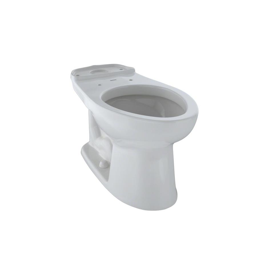 TOTO Eco Drake Chair Height Colonial White 12 Rough-In Elongated Toilet Bowl