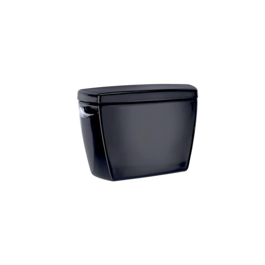 TOTO Drake Ebony 1.28-GPF (4.85-LPF) 12 Rough-In Single-Flush High-Efficiency Toilet Tank