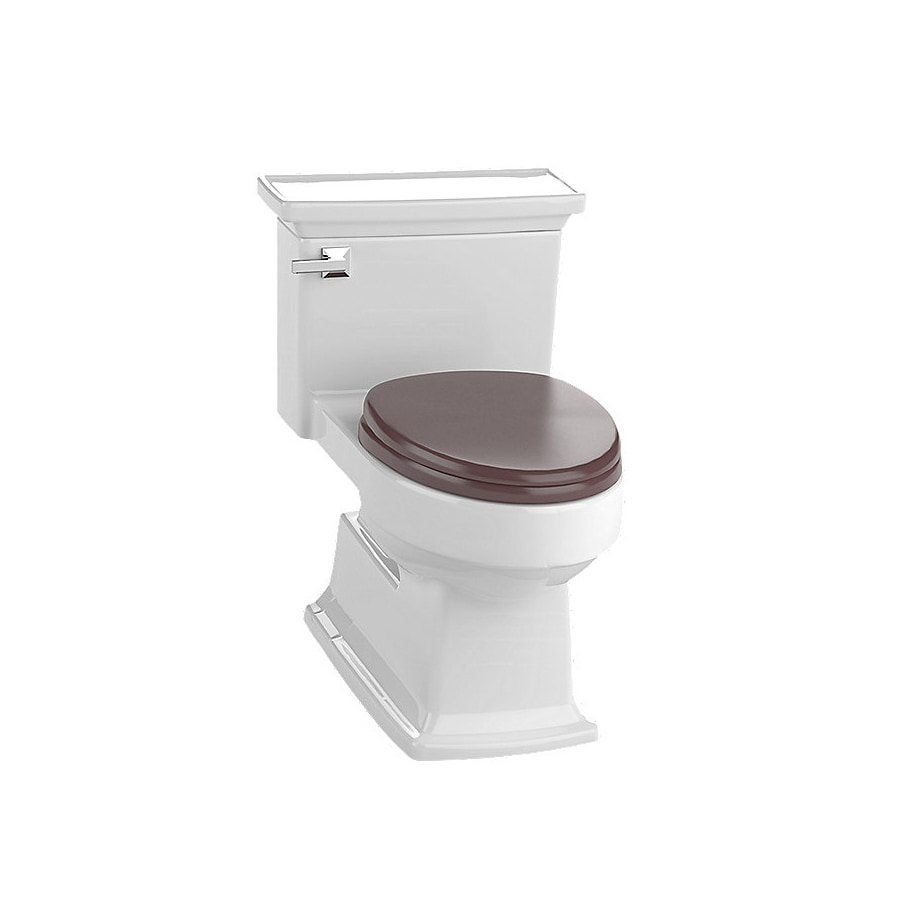 TOTO Eco Lloyd 1.28 Colonial White WaterSense Elongated Chair Height 1-Piece Toilet