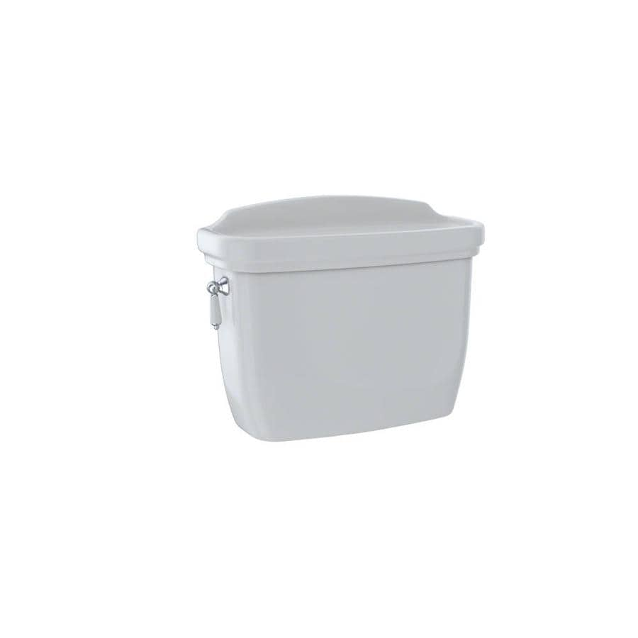 TOTO Dartmouth Colonial White 1.28-GPF Single-Flush High-Efficiency Toilet Tank