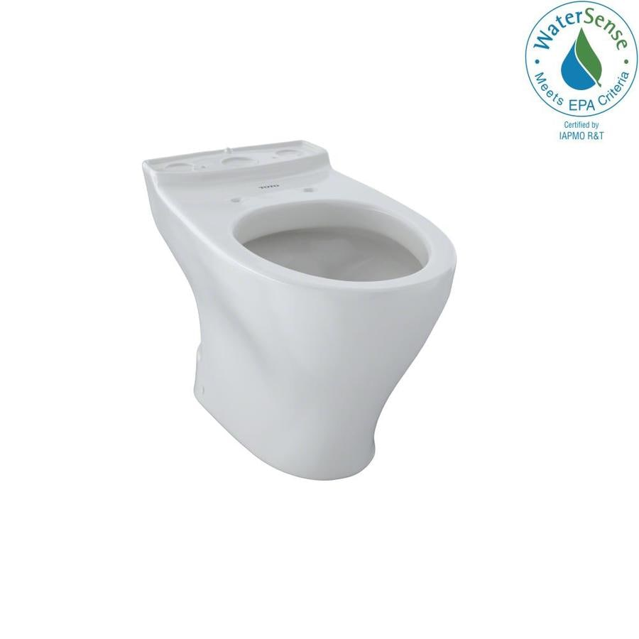 TOTO Aquia Chair Height Colonial White 12 Rough-In Elongated Toilet Bowl