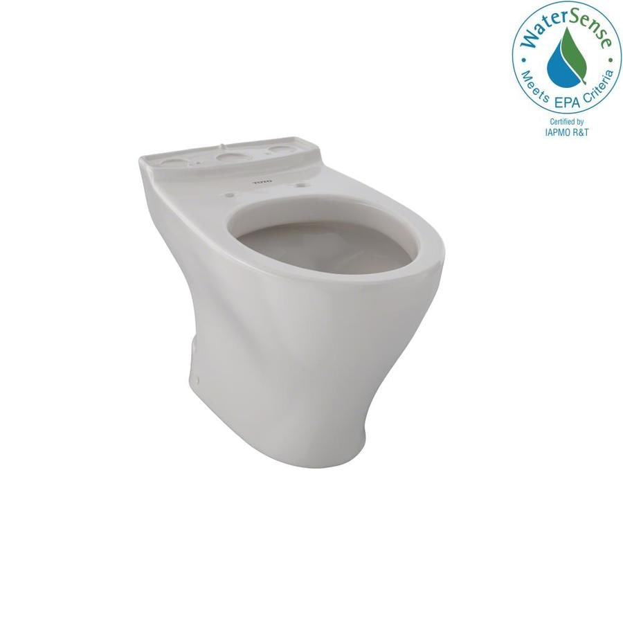 shop toto aquia sedona beige elongated chair height toilet bowl at. Black Bedroom Furniture Sets. Home Design Ideas