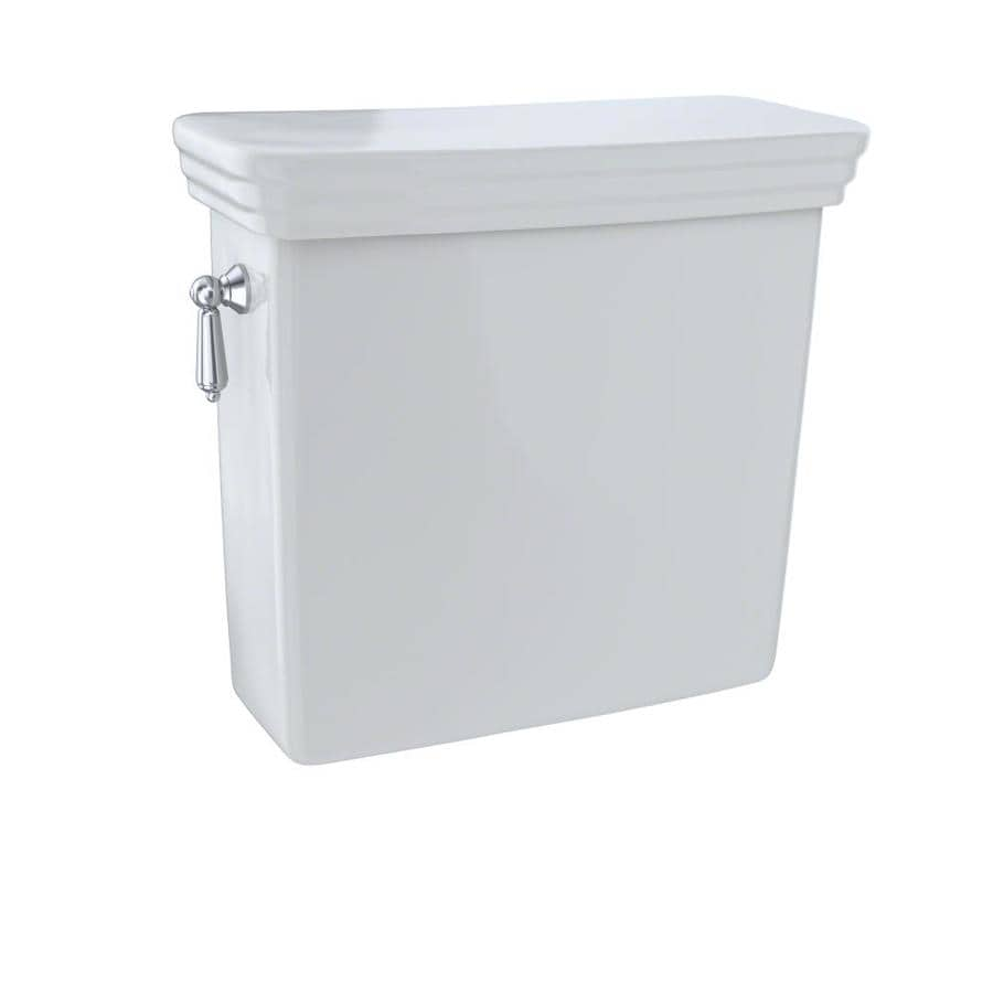 TOTO Promenade Colonial White 1.6-GPF Single-Flush High-Efficiency Toilet Tank