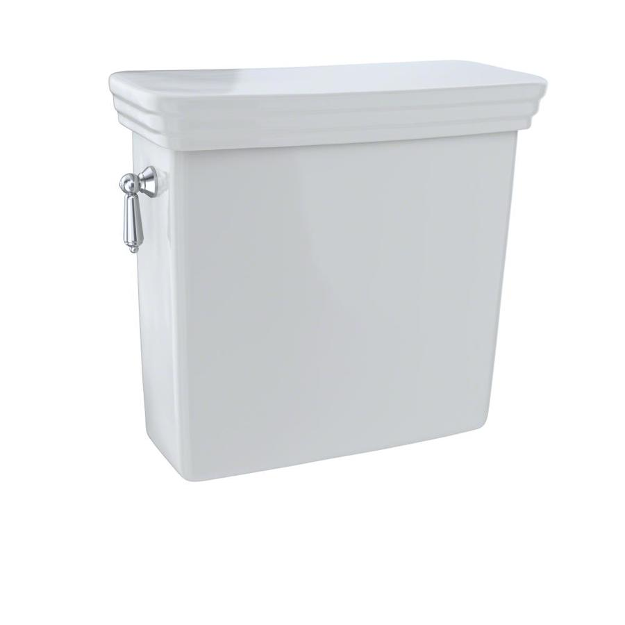 TOTO Promenade Colonial White 1.28-GPF Single-Flush High-Efficiency Toilet Tank