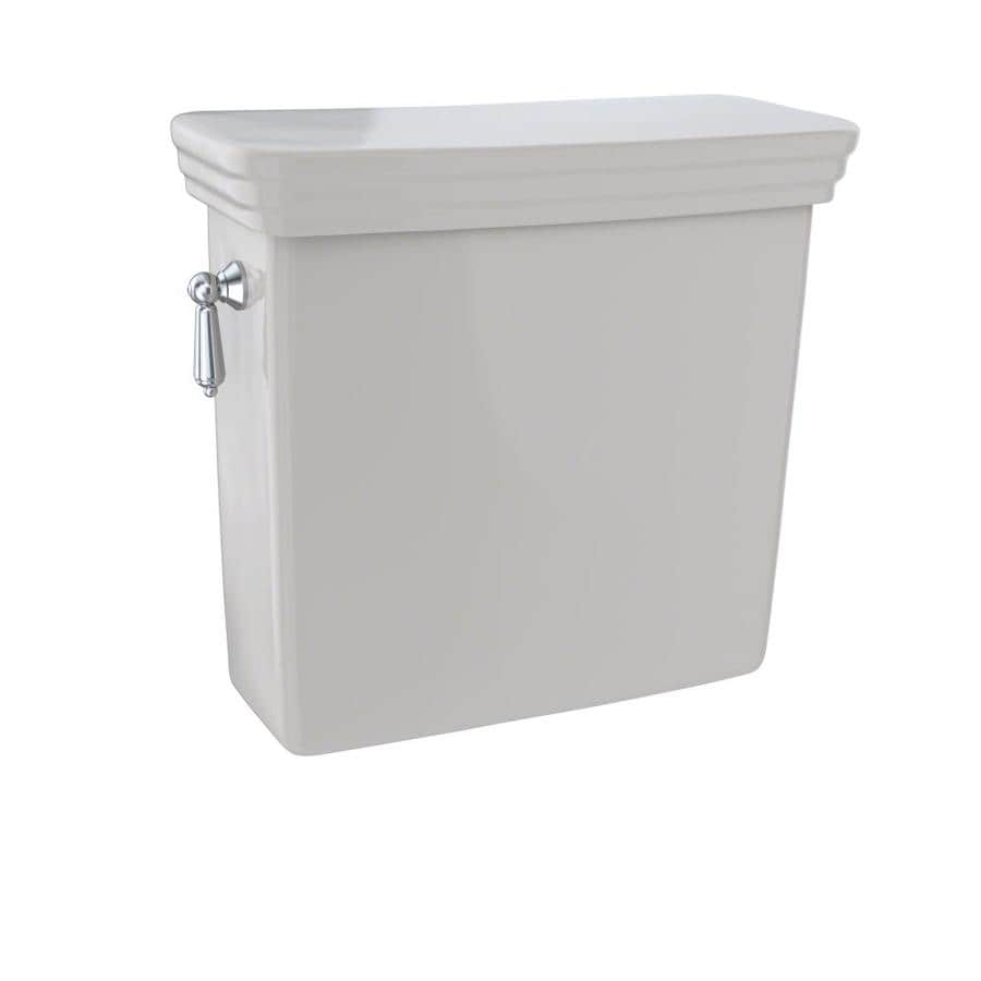 TOTO Promenade Sedona Beige 1.28-GPF Single-Flush High-Efficiency Toilet Tank