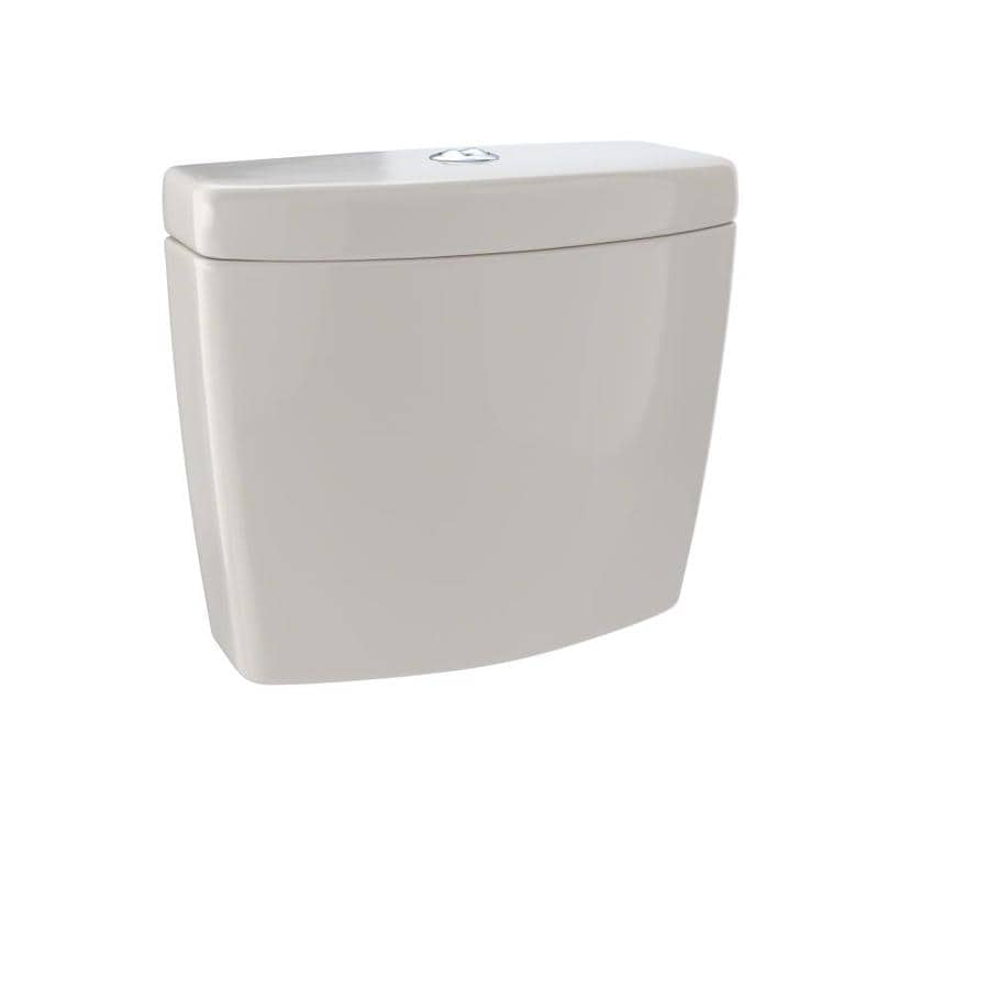 TOTO Aquia Bone 0.9-GPF Dual-Flush High-Efficiency Toilet Tank