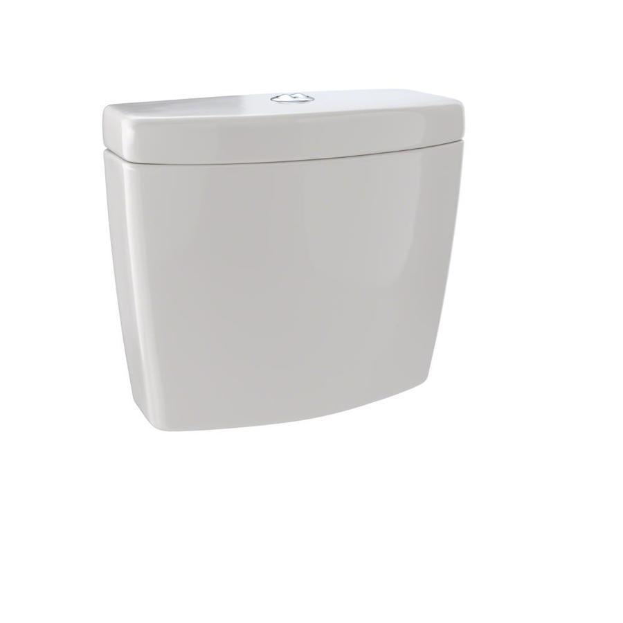 TOTO Aquia Sedona Beige 1.6; 0.9-GPF (6.06; 3.41-LPF) 12 Rough-In Dual-Flush High-Efficiency Toilet Tank