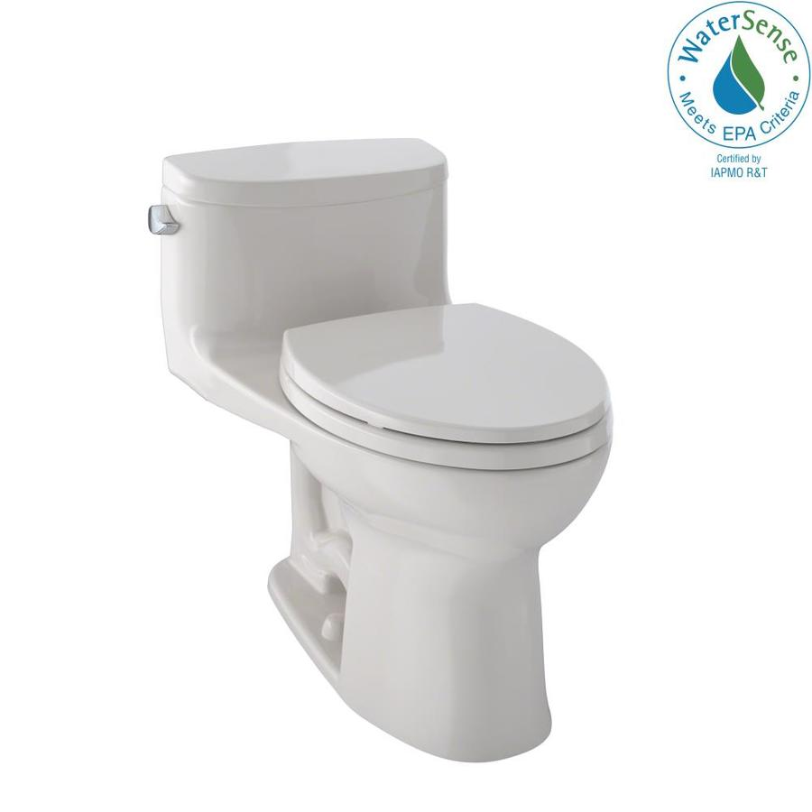 TOTO Supreme II Sedona Beige 1.28-GPF (4.85-LPF) 12 Rough-In WaterSense Elongated 1-Piece Chair Height Toilet