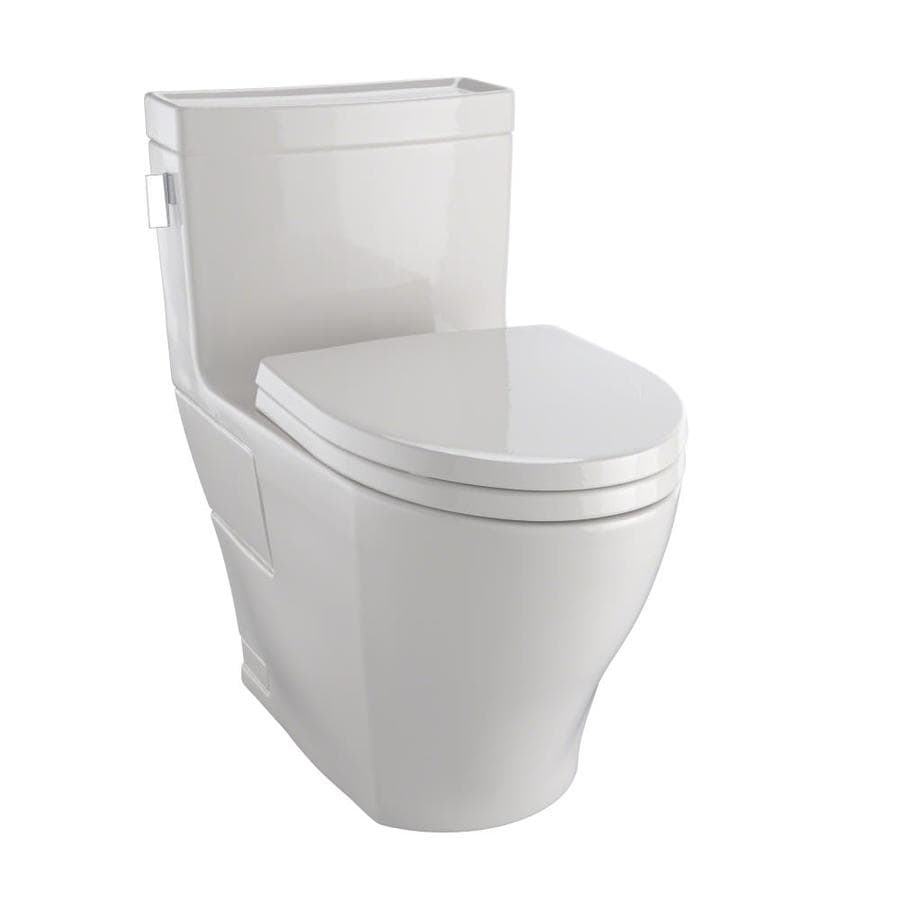 TOTO Legato Sedona Beige WaterSense Labeled  Elongated Chair Height 1-piece Toilet 12-in Rough-In Size