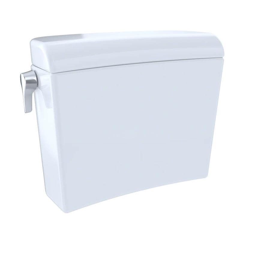TOTO Maris Cotton White 1.28-GPF Dual-Flush High-Efficiency Toilet Tank