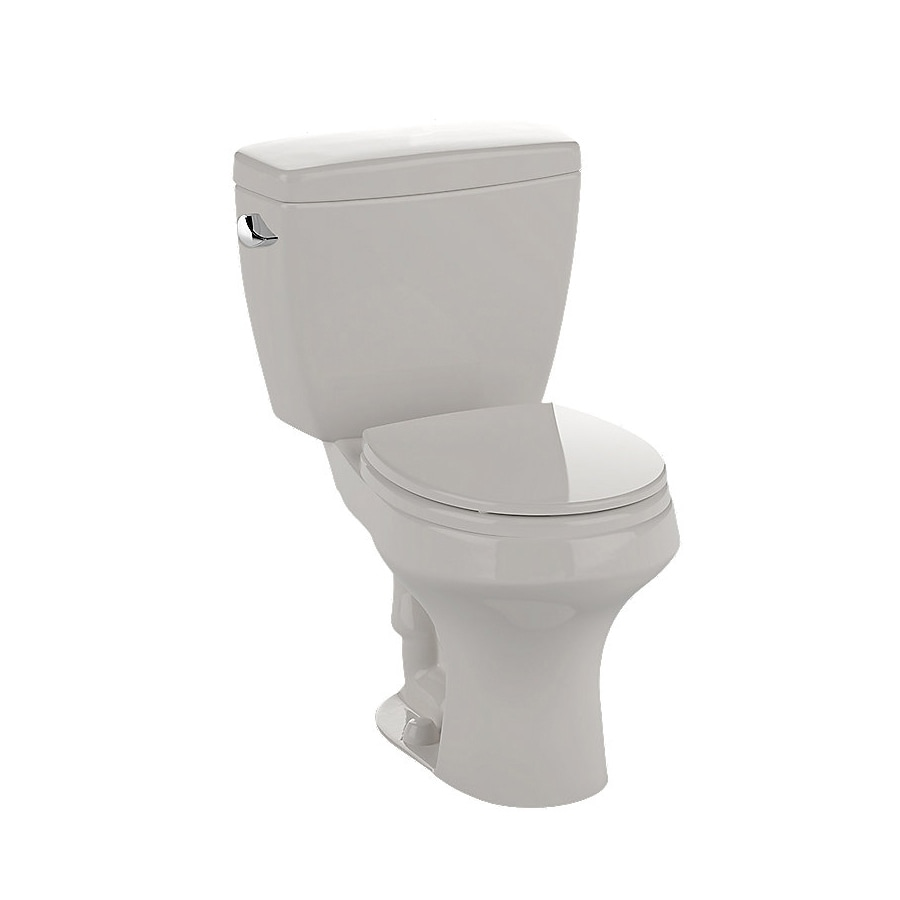 TOTO Rowan 1.6-GPF (6.06-LPF) Sedona Beige Round Chair Height 2-Piece Toilet