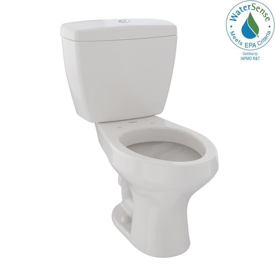 TOTO Rowan 1.6; 1.0-GPF (6.06; 3.79-LPF) Sedona Beige WaterSense Dual-Flush Elongated Chair Height 2-Piece Toilet