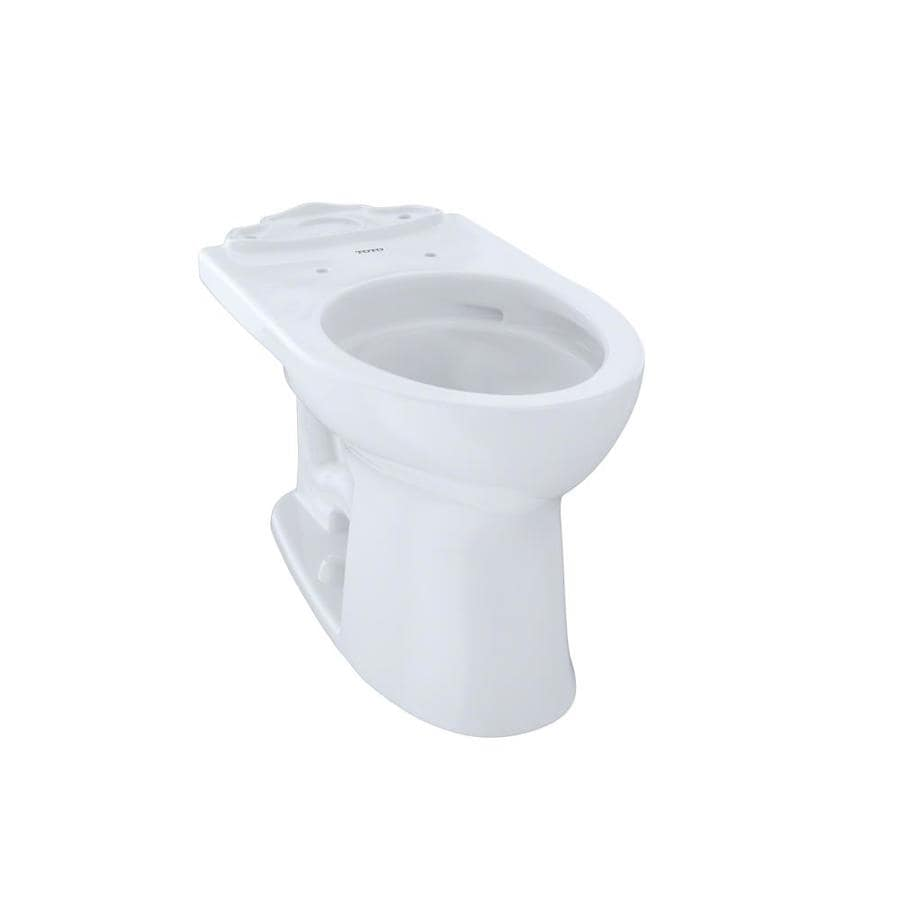 TOTO Drake II Chair Height Cotton White 12 Rough-In Elongated Toilet Bowl