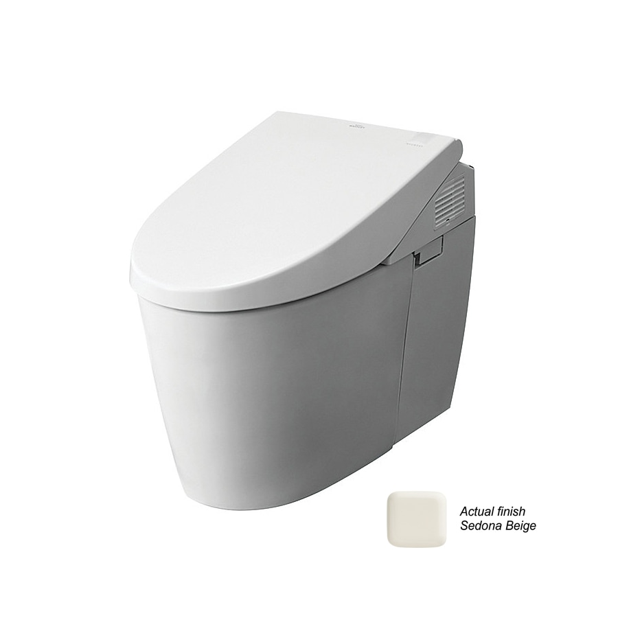 shop toto neorest 1 gpf sedona beige dual flush elongated 1 piece toilet at. Black Bedroom Furniture Sets. Home Design Ideas