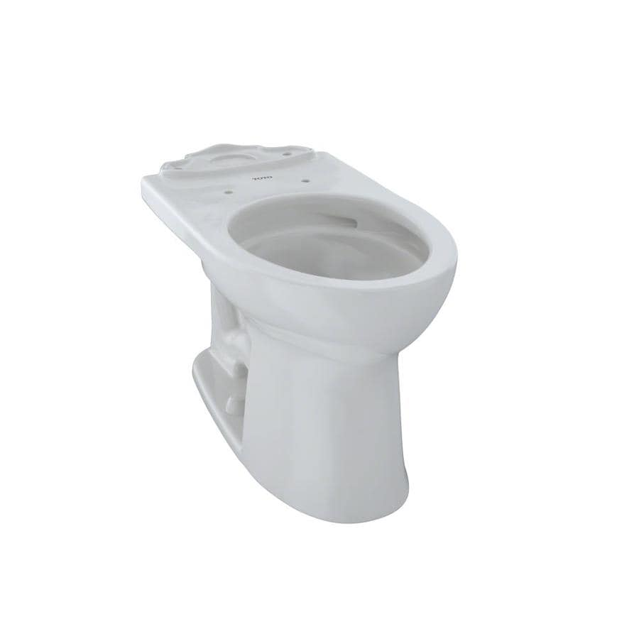 TOTO Drake II Chair Height Colonial White 12 Rough-In Elongated Toilet Bowl