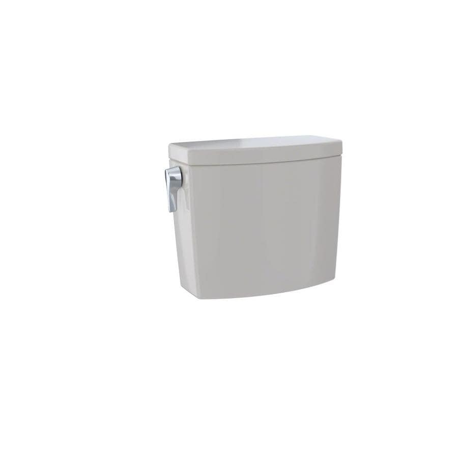 TOTO Drake II Sedona Beige 1-GPF Single-Flush High-Efficiency Toilet Tank