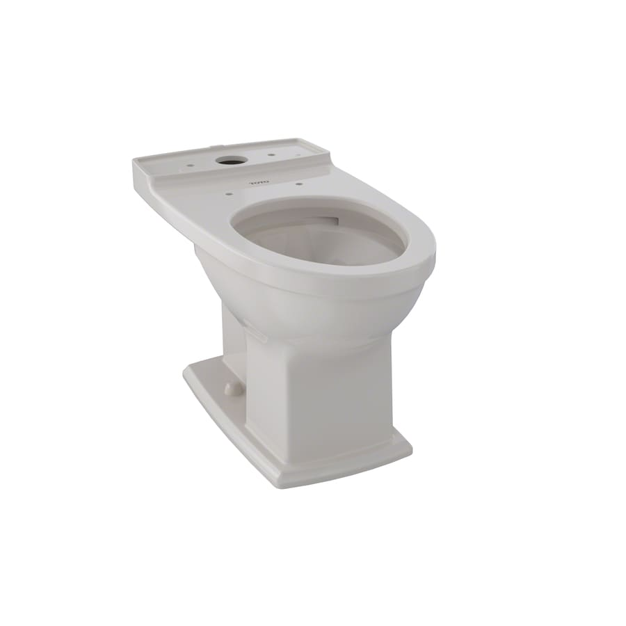 shop toto connelly sedona beige elongated chair height toilet bowl at. Black Bedroom Furniture Sets. Home Design Ideas