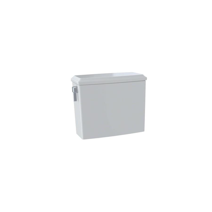 TOTO Connelly Colonial White 0.9-GPF Dual-Flush High-Efficiency Toilet Tank
