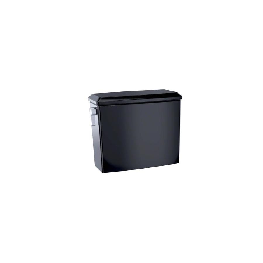 TOTO Connelly Ebony 0.9-GPF Dual-Flush High-Efficiency Toilet Tank