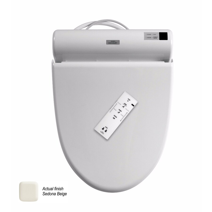 shop toto bidet function toilet seat at lowes