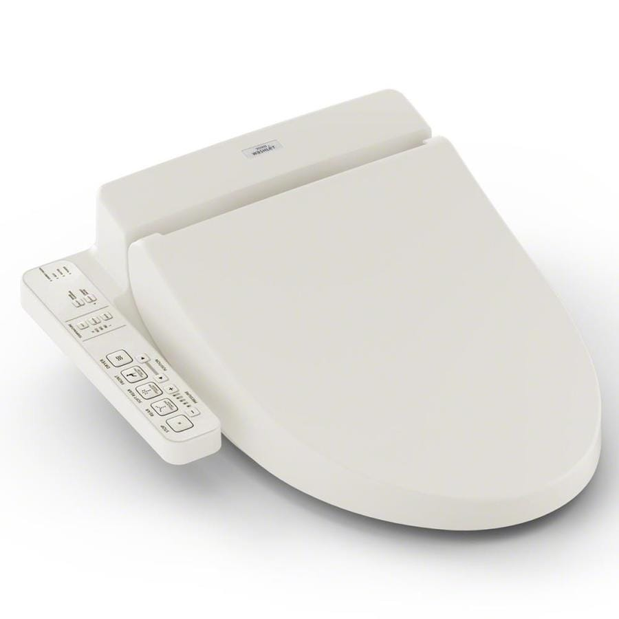 TOTO C100 Plastic Elongated Heated Bidet Toilet Seat