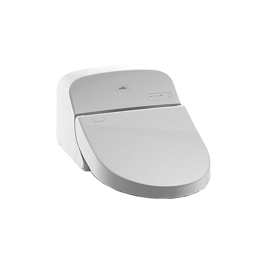 TOTO G400 Washlet Plastic Elongated Slow-Close Heated Bidet Toilet